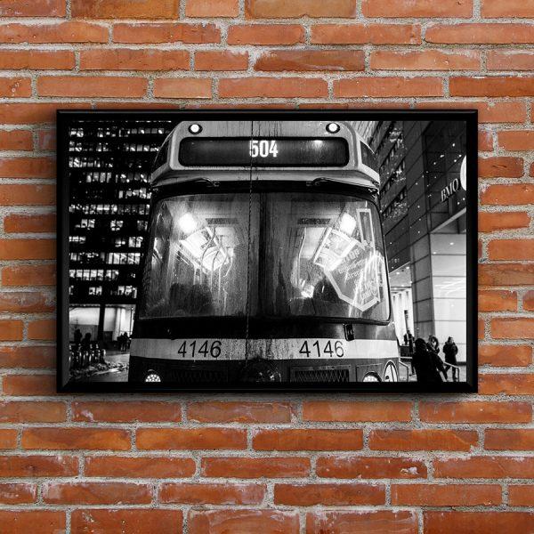 Streetcar 504 city photography print